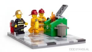 Workplace Fires - Lego Firefighters