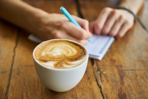 2018 Scholarship Application with Coffee