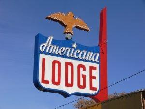 Americana Lodge by Brian Bennett.