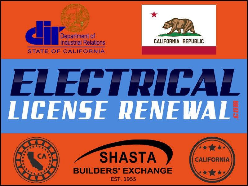 Shasta Builders' Exchange » ElectricalLicenseRenewal com