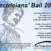 Electricians' Ball 2017 Post Card