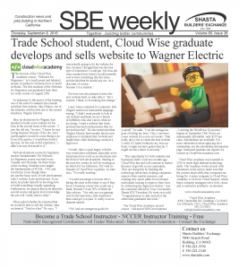 SBE Weekly Cover