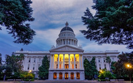 California Capitol Building.Shasta Builders Exchange. Photo by Jeff Turner