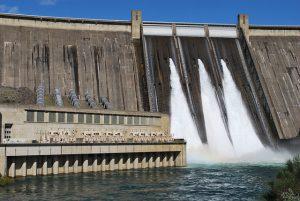 Shasta Dam High Water Release