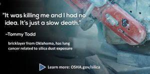 Silica Dust Cancer