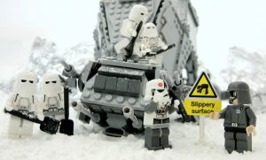 """Stormtroopers Experience Cold Stess """"Student Driver"""" by leg0fenris"""