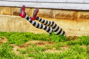 Witch Legs by Patrick Emerson  - Emergency planning?