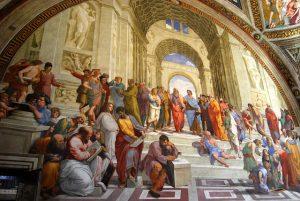 Plato Philosophers Fresco