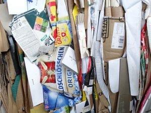 Waste Paper Cardboard Bundle